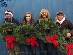 Selling wreaths to ski. For more read the special Saturday, Dec. 19, 2015 Christmas edition of the Lake County Examiner, or click here: http://www.lakecountyexam.com/news/lake_county/selling-wreaths-to-ski/article_e1596f14-a69a-11e5-95f8-873a9097e64b.html