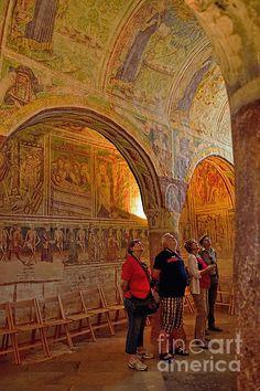 Awe In Hrastovlje by Norman Gabitzsch #Gothic #church