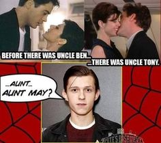Before there was uncle Ben... there was uncle Tony  XD