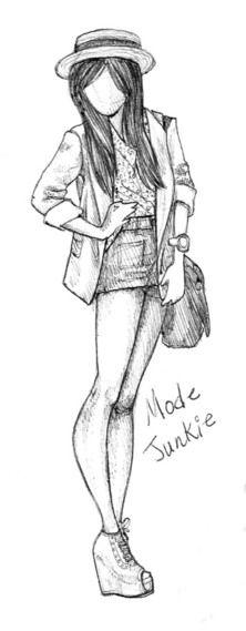 Chica con shorsch, camisa, bolso