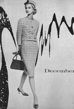 December Vogue 1958