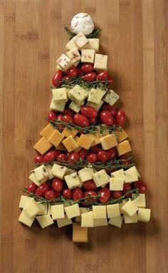 christmas tree deli snacks - Christmas Eve Snacks