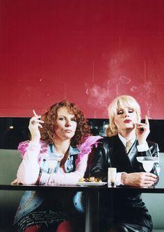 Absolutely Fabulous. Patsy & Edina.