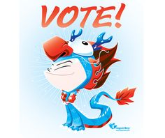 Every dragon vote counts!