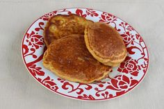 Recipe for banana-zucchini pancakes (Fitnesissta)