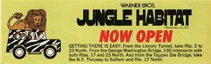 Jungle Habitat - opened in 1972 in West Milford NJ, close in Was around a half hour drive from where I grew up. Was a fun place, and Warner Brothers themed. Tappan Zee Bridge, West Milford, Local Legends, Warner Bros, Warner Brothers, Never Stop Learning, Best Kept Secret, George Washington Bridge, New Jersey