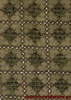 Gallery.ru / Фото #30 - αργυρω - ergoxeiro Beaded Embroidery, Embroidery Patterns, Cross Stitch, Crosses, Disney, Gold, Embroidery Jewelry, Bead Embroidery Jewelry, Bullion Embroidery
