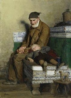 Swiss Genre Painter Albert Anker (1831-1910)