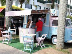 Food Truck Park é instalado em Guarujá  (Foto: Roberto Sander Jr./Divulgação)