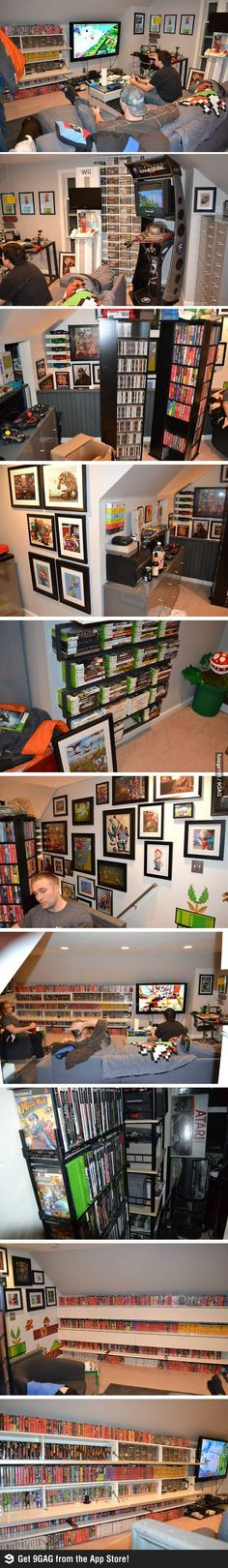 The dream of every gamer in the world #Gaming