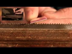 How to Sharpen a Woodworking Handsaw | Paul Sellers - YouTube