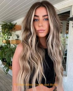 Fall Hair Colour Trends and Styles Beautiful hair by ❤️💜💖💙 Color ❤️ Cinnamon Balayage 22 Blonde Hair Colors, from Golden to Caramel Blond Ombre, Brown Ombre Hair, Brown Blonde Hair, Brown Hair With Highlights, Ombre Hair Color, Hair Color Balayage, Brown Hair Colors, Blonde Highlights, Hair Colour