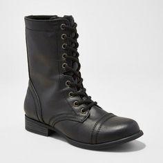 Image result for black combat boots