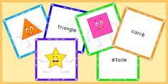 Jeu Mémory PDF Formes Géométriques & Solides au Primaire - Établir une bonne connaissance des formes géométriques & solides dès la maternelle en s'amusant.