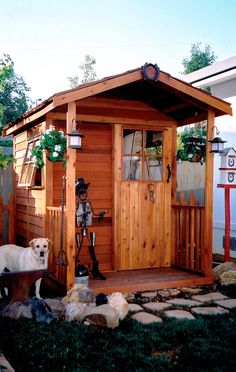 Cedarshed Gardener's Delight DIY kit has prebuilt wall panels and includes plans and all assembly hardware.  No cutting required!  visit:  cedarshed.com  #gardensheds