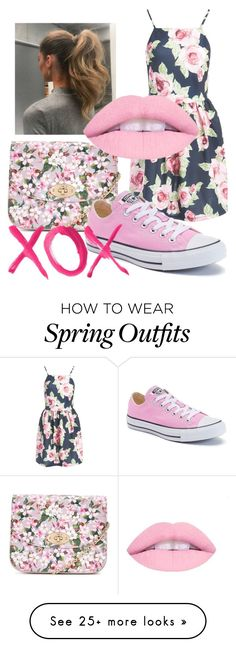 """""""Summer Outfit"""" by ravenbauer on Polyvore featuring Sans Souci, LYDC, Converse and GALA"""