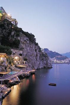 Hotel Santa Caterina - Amalfi, Italy - The citrus-grove dotted estate is just a few minutes walk from all the action of Amalfi.