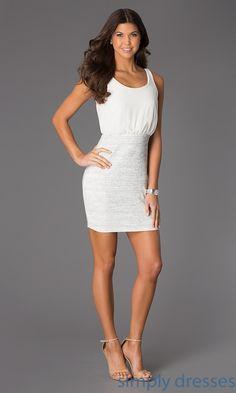 White Casual Graduation Dresses   Cool Casual Dresses   Pinterest ...
