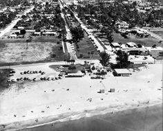 Florida Memory - Aerial view of Venice on the Gulf of Mexico