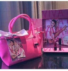 Viva glam ariana grande in japan on We Heart It Yours Truly, Viva Glam Ariana Grande, Ariana Grande Fragrance, Ariana Perfume, Ariana Merch, Girly Things, Queen, Selfish, Lipsy