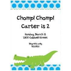 gator invitation