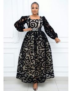 African Dresses For Kids, Latest African Fashion Dresses, African Print Fashion, Lace Gown Styles, Ankara Dress Styles, African Attire, Classy Dress, Mesh Dress, Marimo