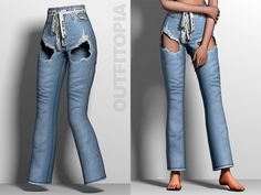 Sims 4 Cc Eyes, Sims Cc, Play Sims 4, Sims 4 Clothing, Female Clothing, The Sims 4 Packs, The Sims 4 Download, Sims Mods, Pants For Women
