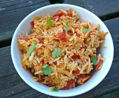 Domestic Sluttery: food and drink Vegetarian Cooking, Vegetarian Recipes, Healthy Recipes, Healthy Meals, Veggie Recipes, Dinner Recipes, Jollof Rice, Nigerian Food, Healthy Sides