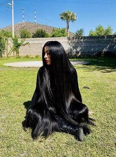 Silky Hair, Smooth Hair, Beautiful Long Hair, Gorgeous Hair, Indian Hair Cuts, Rapunzel Hair, Really Long Hair, Long Dark Hair, Natural Hair Styles