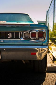 Dodge Coronet 500  Follow Jasper Symons for more!
