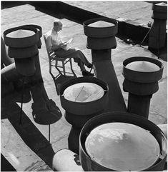 André KERTÉSZ :: New York, 1943 [On Reading series]