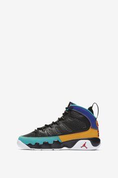 official photos 8deaf 73546 Air Jordan 9  Black   Dark Concord   Canyon Gold  Release Date