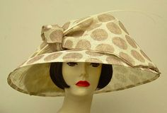 """A Kentucky Derby Hat that screams """"Pretty Woman"""" at the Races...from HAT-A-TUDE.COM"""