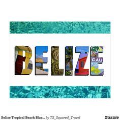 Show everyone your love for the country of Belize with this postcard containing photos of Ambergris Caye, Caye Caulker, and Mayan ruins imposed over a tropical blue ocean background. Caye Caulker Belize, Ambergris Caye, Ancient Greek Architecture, Gothic Architecture, Ocean Backgrounds, Tropical Beaches, Photo Blue, Mayan Ruins, Vietnam Travel