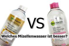 Garnier Mizellenwasser im Test - All in 1 vs. Normale & Empfindliche Hau...
