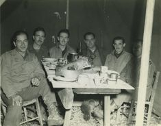 American servicemen could count on a bite of home on two major holidays, Thanksgiving and Christmas. Sometimes field and combat conditions necessitated a later celebration– Thanksgiving Day 1944 was on 23 November; these photographs range from 17 November to 27 November. The meals were, as you can see, enjoyed nonetheless.