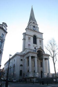 Christ Church Spitalfields (1714-29) by Nicholas Hawksmoor