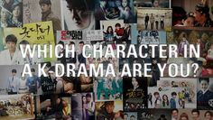 [POP QUIZ] Which character in a K-Drama are you? | allkpop.com The Cinderella