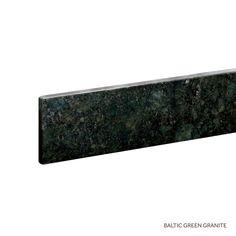 "37"" Granite Vanity Backsplash - Baltic Green"