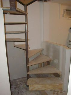 How to build a spiral staircase