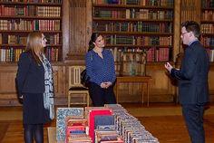 Crown Princess Victoria visit The Bernadotte Library