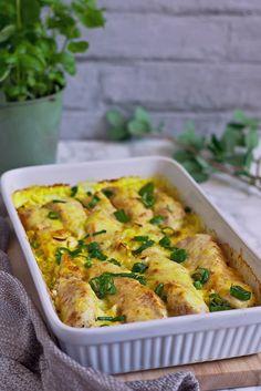 Filet z kurczaka w porach w sosie curry – Smaki na talerzu