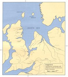 Britain, as it looked in 5,500BC.