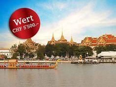 Gewinne eine spektakuläre Traumreise nach Bangkok für 2 Personen im Wert von 5'500.-!  Teste hier dein Glück: http://www.gratis-schweiz.ch/gewinne-eine-spektakulare-traumreise-nach-bangkok/