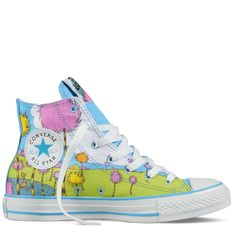 """Lorax Chucks...if only the hubs didn't give me the """"look"""" every time I get crazy shoes.  :-)"""