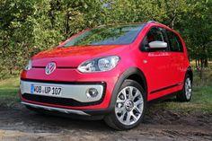 Volkswagen Cross up! in Rot