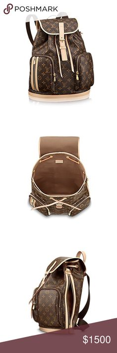 Louis Vuitton backpack with dust-bag, receipt Louis Vuitton backpack comes with dust-bag, receipt and paper bag Louis Vuitton Bags Backpacks