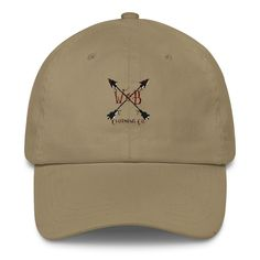 W&B Clothing Company Crossed Arrows Classic Dad Cap