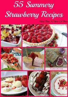 55 Summery Strawberry Recipes