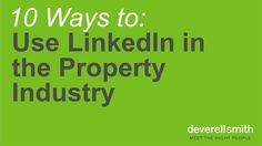 Are you using Linkedin correctly? Learn how to get the most out of Linkedin for your career and business from networking, generating leads and your personal brand. LinkedIn is turning the traditional business development and networking model on its head.